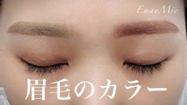 眉毛のカラー